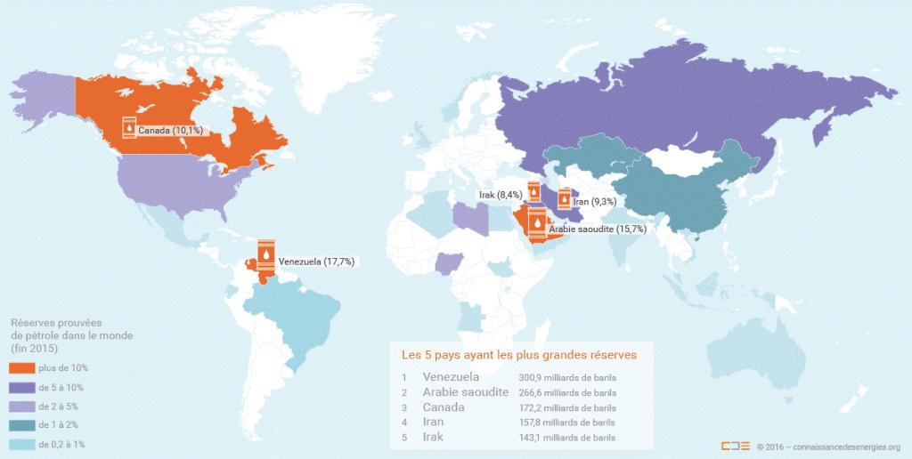Géographie du pétrole
